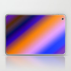 Orange & Blue Stripes Laptop & iPad Skin