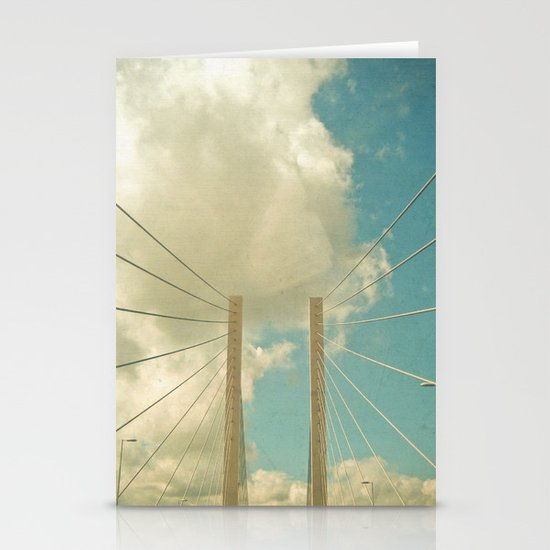 Over the Bridge Stationery Card