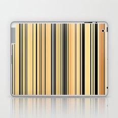 HIGH SOCIETY VINTAGE BEACH STRIPES 001 Laptop & iPad Skin