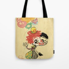 The Clown / Balloons Tote Bag