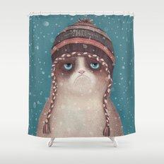 Under snow Shower Curtain