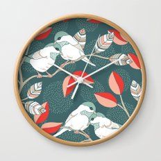 Love Birds  Wall Clock