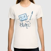 Help! Womens Fitted Tee Natural SMALL