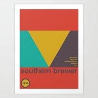 Southern Brewer Single H… Art Print