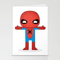 SPIDER MAN ROBOTIC Stationery Cards