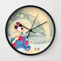 Turning Japanese Wall Clock