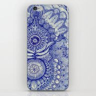 iPhone & iPod Skin featuring Blue by Yes Menu