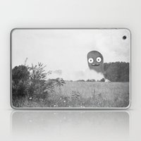 The Passer-by Saw Only A… Laptop & iPad Skin