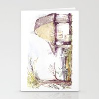 Romanian Watercolor Stationery Cards