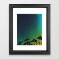 Framed Art Print featuring Serenity by Doowylloh