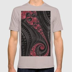Licorice Twists Mens Fitted Tee Cinder SMALL
