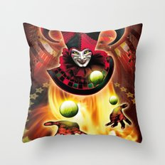 Poster Cirkus Throw Pillow