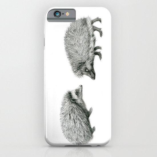 Funny Hedgehog SK050 iPhone & iPod Case