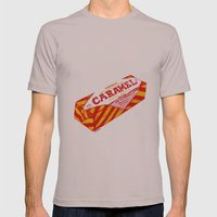 Caramel Wafer pen drawing Mens Fitted Tee Cinder SMALL