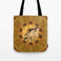 HORSES - The Buckskins Tote Bag