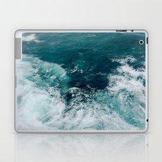 Ocean Waves (Teal) Laptop & iPad Skin