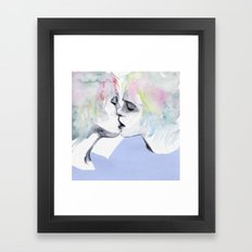 Lonely Boy, Lonely Girl Framed Art Print