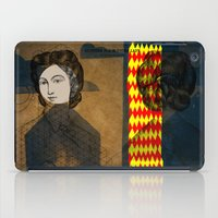 Coiffure for a young lady iPad Case