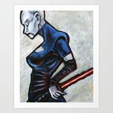 Asajj Ventress, Sith Assassin Art Print
