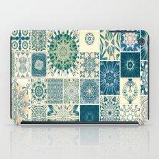 Spring pale Oriental rug iPad Case