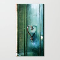 Handle On Love Canvas Print