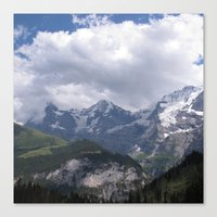 Orge, Monk, And Maiden Canvas Print