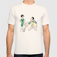 Singin' In The Rain Mens Fitted Tee Natural SMALL