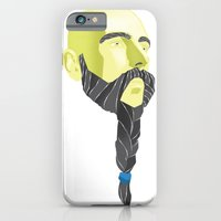 iPhone & iPod Case featuring Braidy by Moats