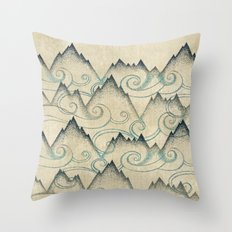 Mountain Breeze  Throw Pillow