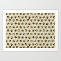 Sprouting Quinoa Art Print
