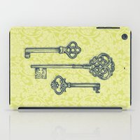 Three Skeleton Keys iPad Case