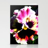 Petals with Pizzazz Stationery Cards
