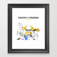 Foster The Friends Framed Art Print