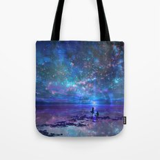Ocean, Stars, Sky, And Y… Tote Bag