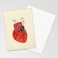 Beat of Life Stationery Cards