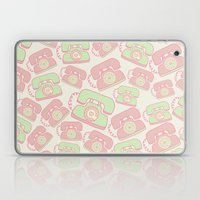 Retro Phone Pattern Laptop & iPad Skin