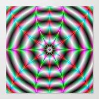 Web Star Canvas Print