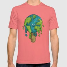 Need to Chill Mens Fitted Tee Pomegranate SMALL