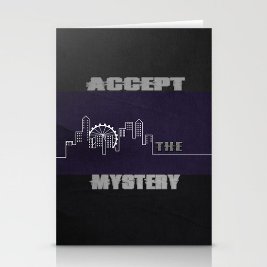 Accept the Mystery Stationery Card