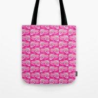 Pink Frog  Tote Bag