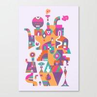 Schema 6 Canvas Print