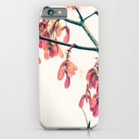 Winged Things -- Spring Botanical Maple Tree Seeds iPhone 6 Slim Case