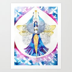 Bee Fairy Art Print