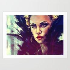 Bring me your heart... Art Print