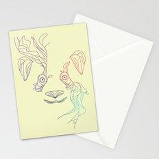 Earth Spirit Panda Stationery Cards