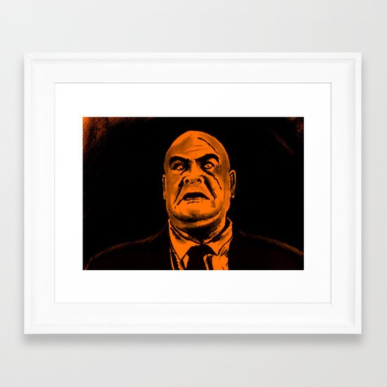 I'm a Big Boy Now, Johnny Framed Art Print