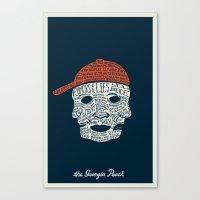The Georgia Peach Canvas Print