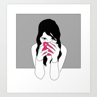 Drink Up Art Print