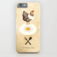 iPhone & iPod Case featuring Don't Eat My Baby. by iamtanya