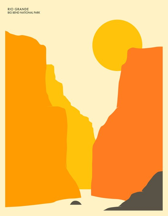 BIG BEND NATIONAL PARK Art Print
